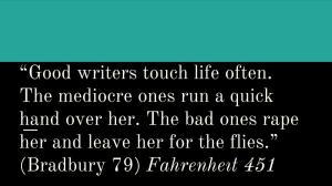 Good Writing