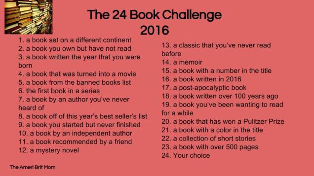 Book Challenge 2016